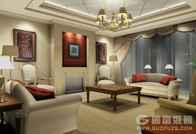 杭州家装客厅装修铺地板还是铺瓷砖