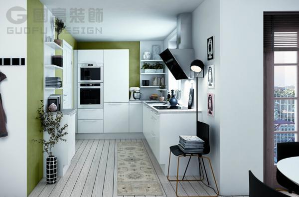 唯美手绘厨房图片