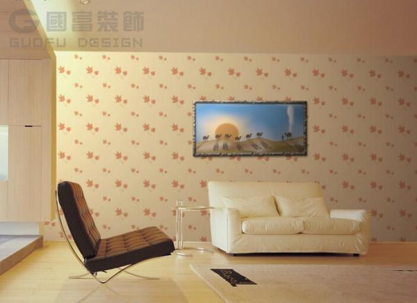 大理石花纹墙纸