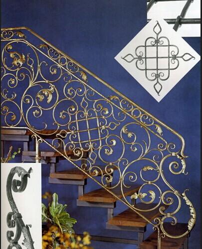 石家庄哪里可以制作铁艺楼梯 大门 防盗窗 栏杆等铁艺