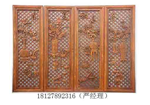 广州实木屏风花格仿古木雕工艺品木雕挂件生产厂家加工厂家哪个好