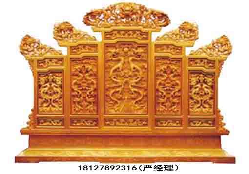 广州古建牌匾屏风明清古代木雕花板厂家定做古式花格建筑门窗价格