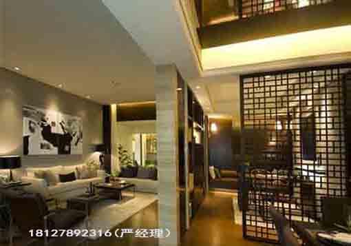 广州明式花格中式花架屏风入户玄关隔断厂家定做实木电视背景价格图片