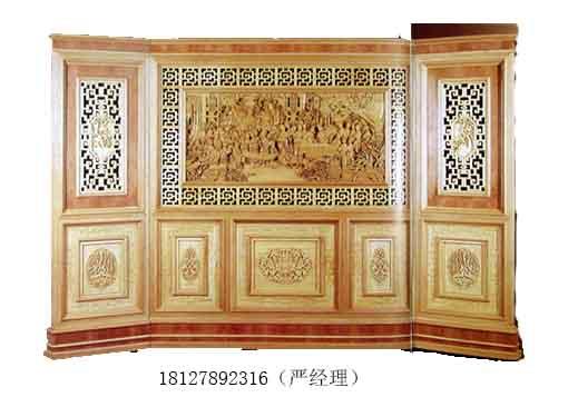 实木雕花板,花格木雕,欧式古典隔断,欧式隔断屏风,木板镂空隔断,红木