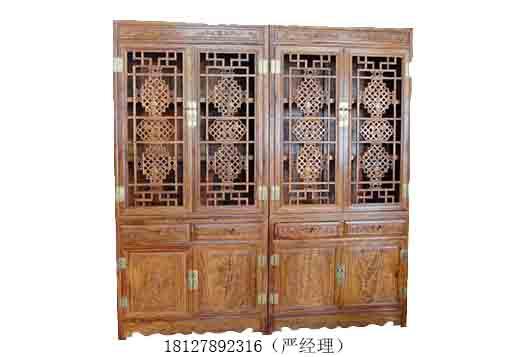 木雕玄关,玄关镂空隔断,欧式实木花格,中式博古架隔断,客厅屏风隔断