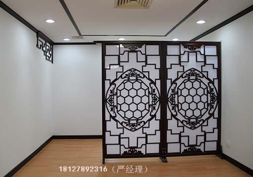 广州哪个玄关雕花隔断雕花镂空隔断木雕花隔断加工厂家好哪里定做