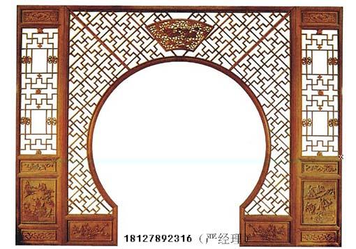 在我国古代,框架木结构建筑比较多,门窗是建筑的重要维护结构.