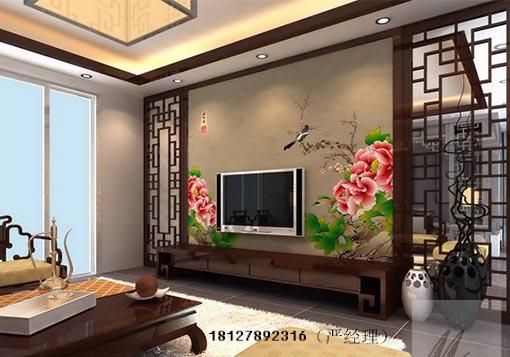 便宜的木雕花背景墙,木雕花电视墙八九百元每平方,而贵的背景墙木雕
