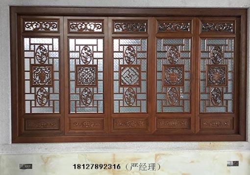 广州中式木雕花格装饰花格加工厂家定做实木花格价格