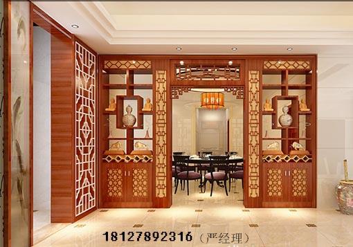 广州口碑好专业定做木屏风隔断,新中式花格,新中式屏风加工厂家