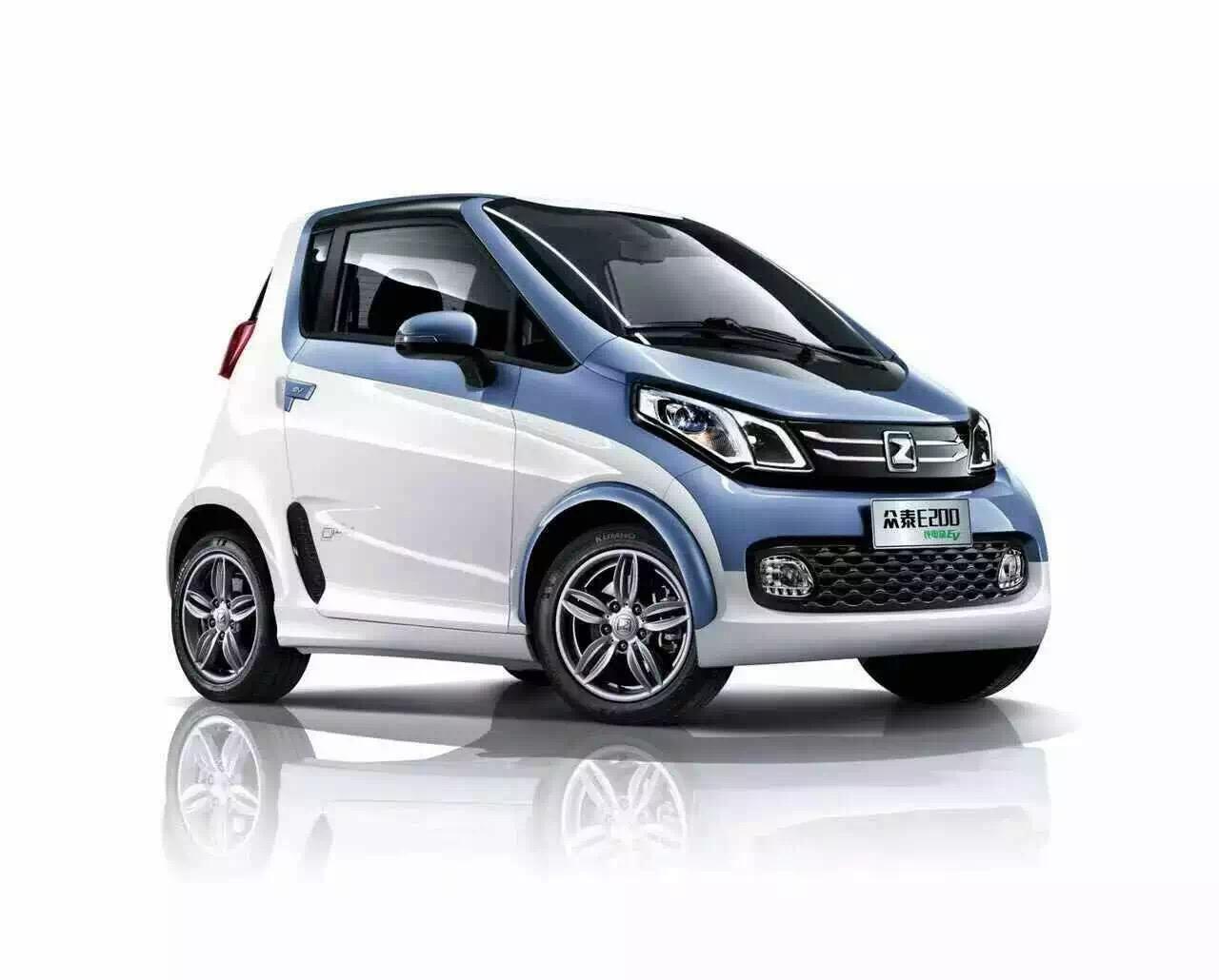 武汉众泰E200纯电动汽车购买找哪家高清图片