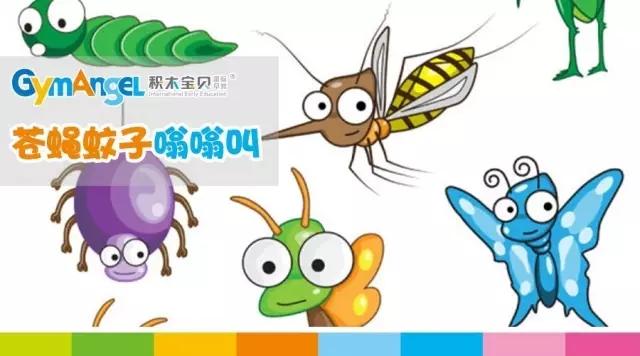 蚊子是夏季的时候较常见的昆虫,要讲卫生,不要吃苍蝇飞落过的地方的图片