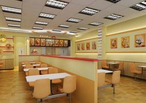 无锡最好的中式快餐厅装饰公司选择哪家? - 家居装修图片