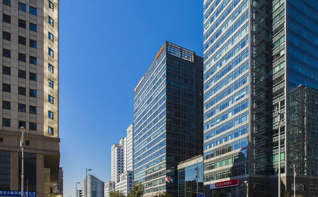 北京东三环物业财富中心超人招商部租赁海尔旗下统帅和小世纪图片