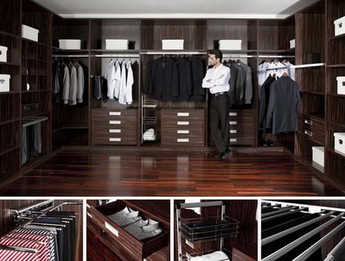 珠海酒店别墅公寓固装家具 定制衣柜常见的四种设计