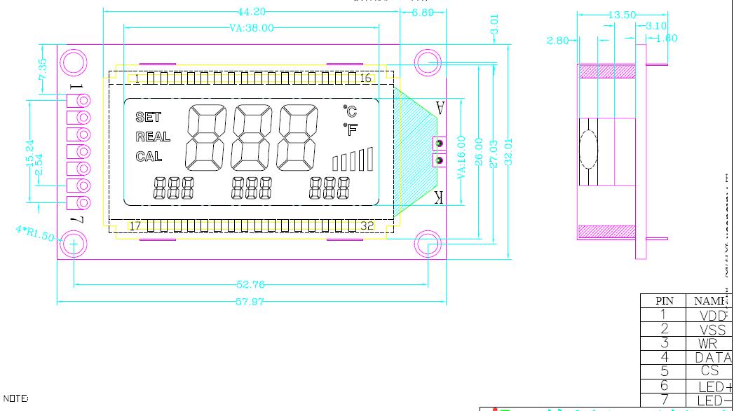 恒温焊台液晶屏,智能焊台显示屏,stn蓝膜液晶屏  0802,1202,1601,1602
