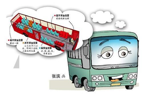 西安公交车司机卡通图片展示