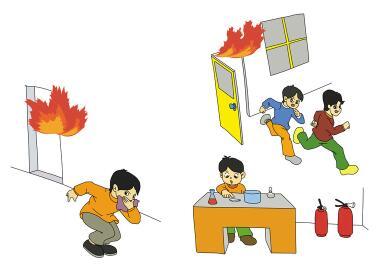 构有哪些 火灾逃生之自救八招图片