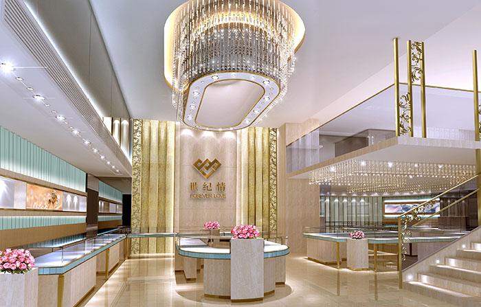 推荐聚美展示,专注于珠宝店面设计图片