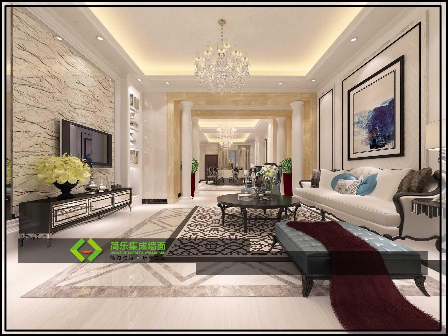 在装修过程中,集成墙面是直接拼装在墙面,不铲墙,免漆,免粘合剂,更不