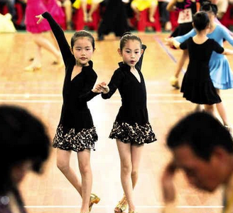 嘉兴拉丁舞培训班|嘉兴少儿拉丁舞培训