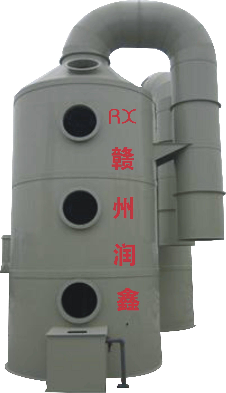 废气处理设备中什么是洗涤塔?