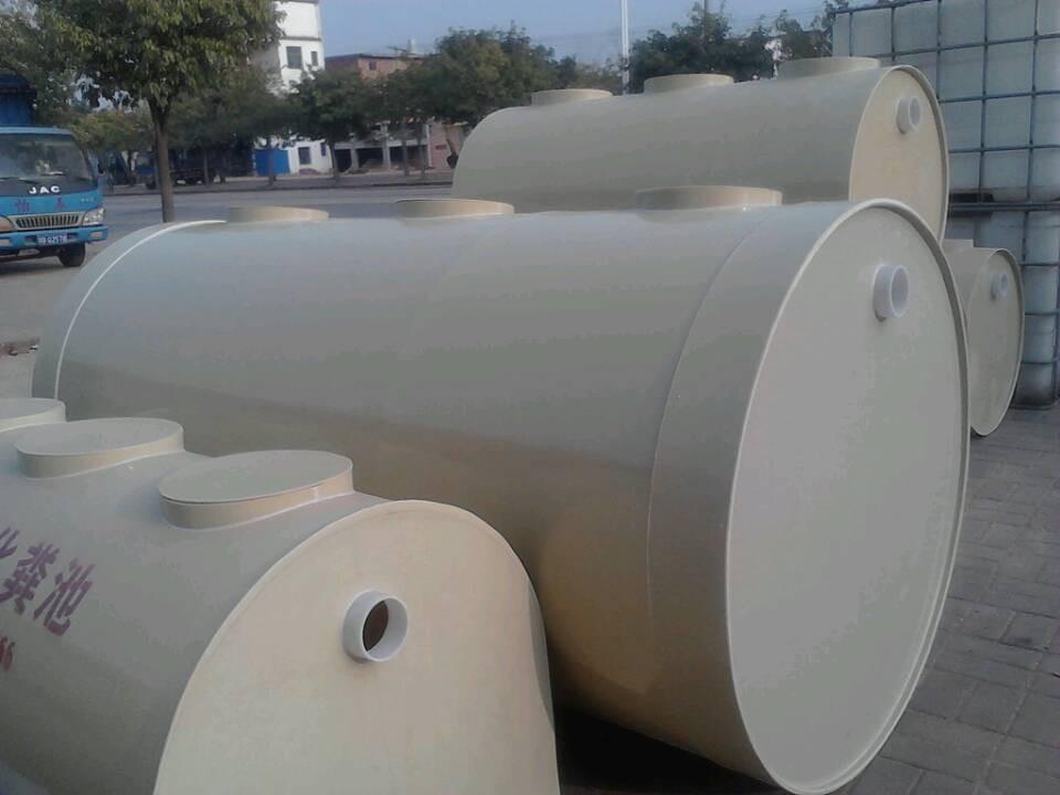 塑料化粪池工作原理 赣州润鑫畅销塑料化粪池 安装简易 环保高效