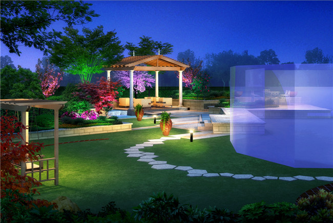 别墅庭院装修设计是整个别墅设计中最重要的环节