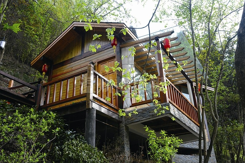 赣州吉安专业生产木结构设计 溪湖园林景观木业专业设计