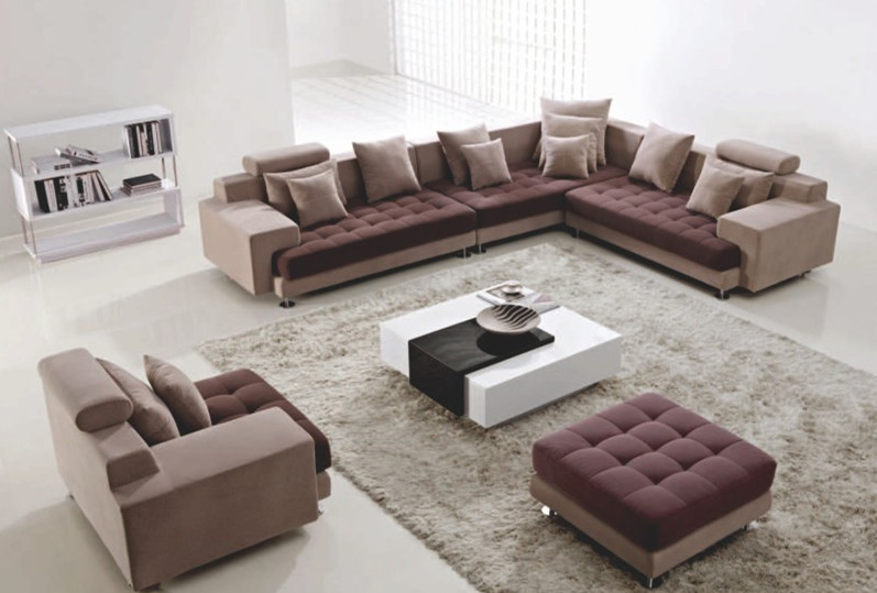哪些款式的布艺沙发在南昌比较流行?图片