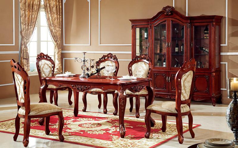 欧式家具餐桌图片