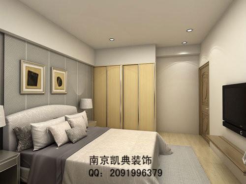南京家庭装修电视墙效果图 高清图片