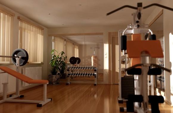 南京家庭健身房装修效果图