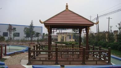上海哪里可以做塑木凉亭?