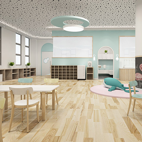 兴平实验幼儿园·操场景观设计