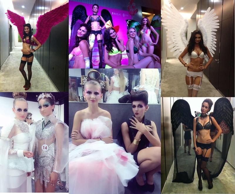 舞台妆,中式,西式,波西米亚妆,水润裸妆,混血妆,森系新娘妆,伴娘妆