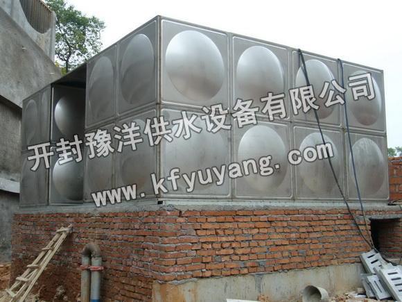 农村不锈钢水塔浮球安装图片