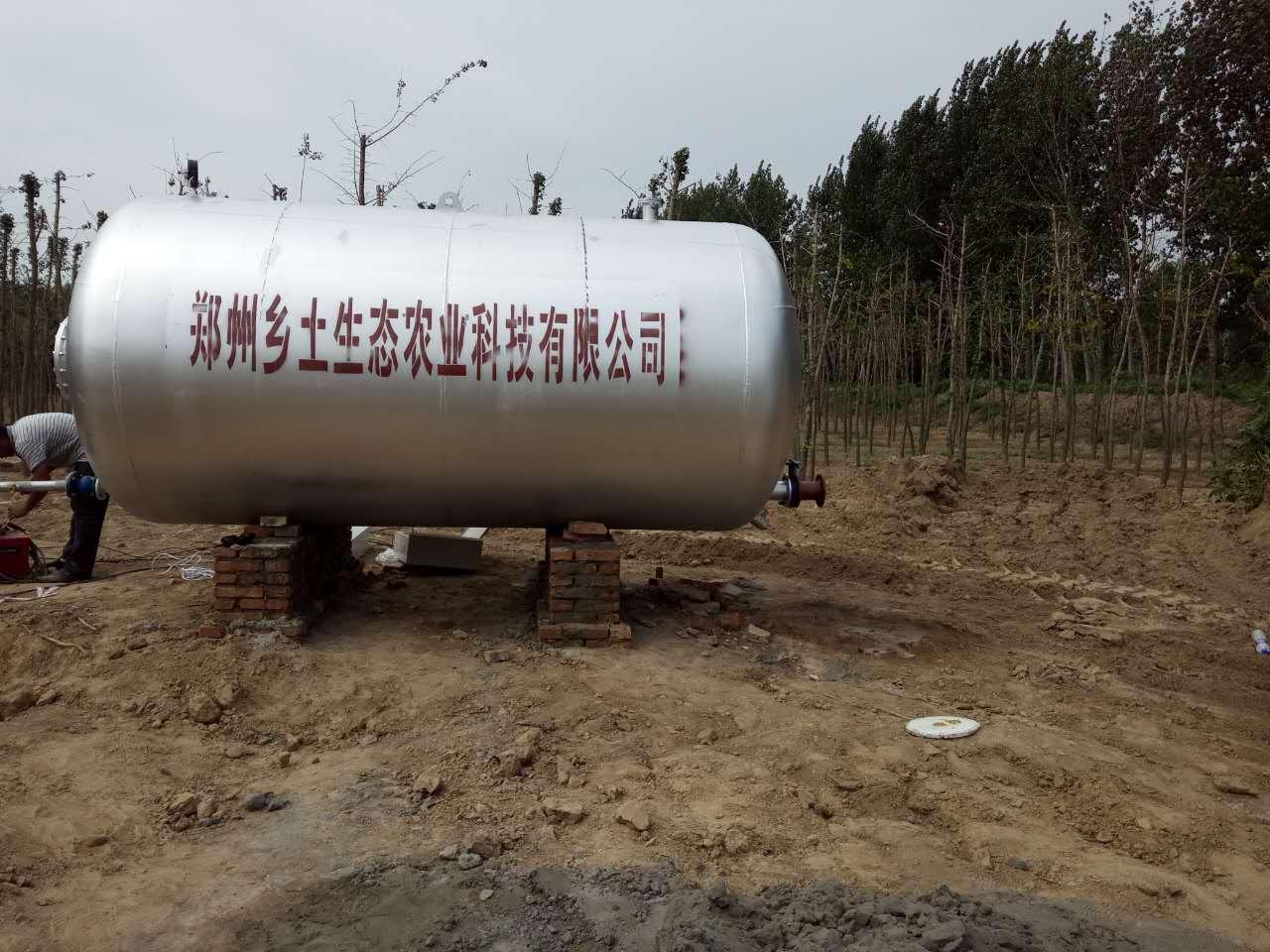 安装30吨40吨生态农业无塔供水设备到豫洋