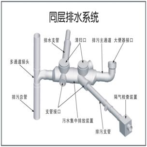 塑管业,什么是PVC同层排水管,PVC排水管型号规格分类广告