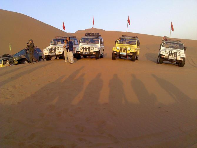 沙漠越野670