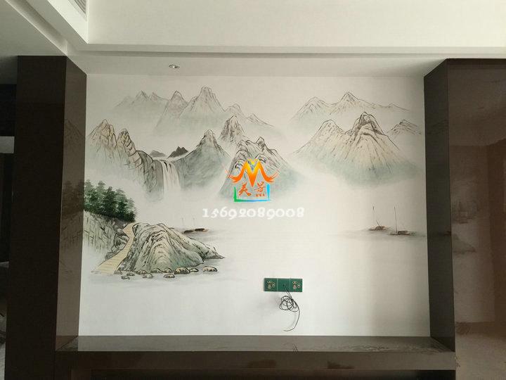 深圳专业墙绘,手绘墙工作室-正规手绘墙画公司