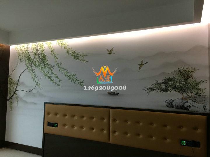 深圳龙岗手绘墙画专业墙绘公司