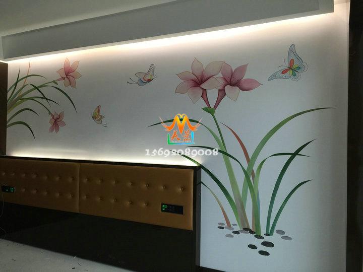 找深圳手绘墙画选美景手绘-专做墙体彩绘;工艺品彩绘