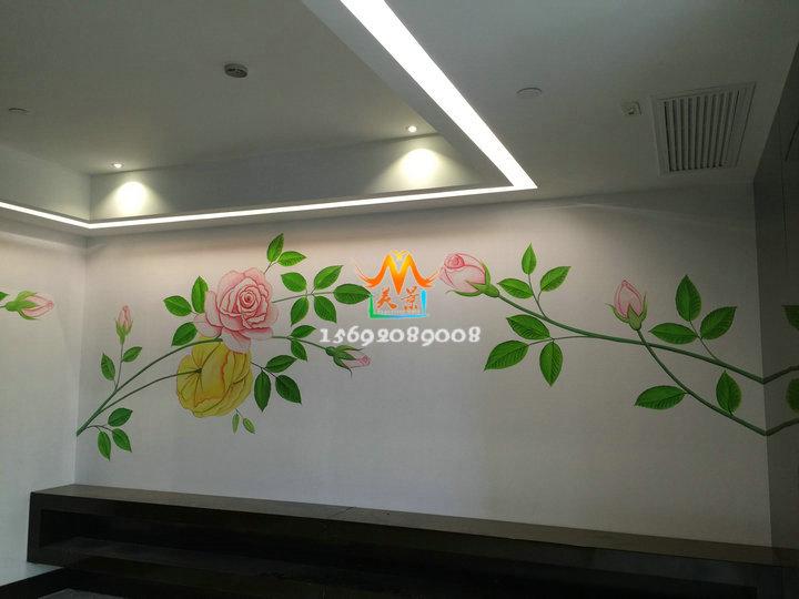艺术墙壁手绘街头