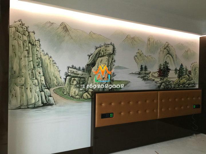 深圳福田优质墙体彩绘手绘墙专业专注 高端创意