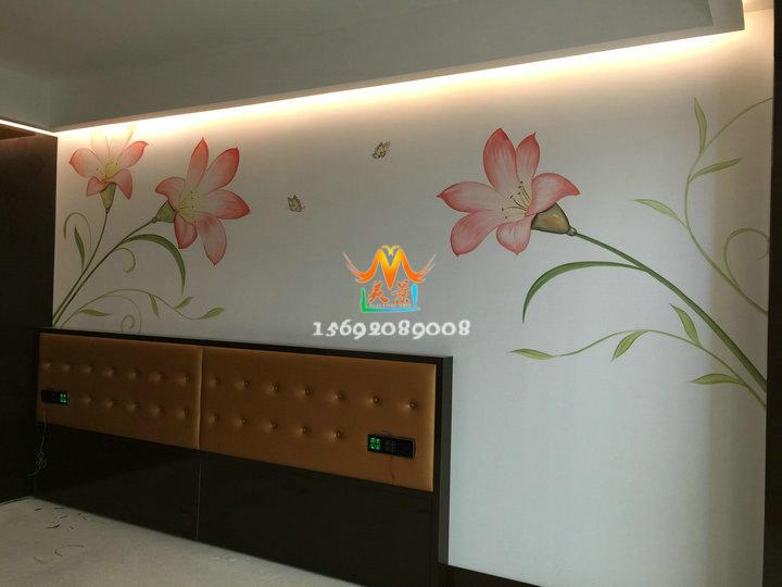 酒店宾馆,超市商场和家庭前来洽谈业务,我们业务范围包括家居手绘墙