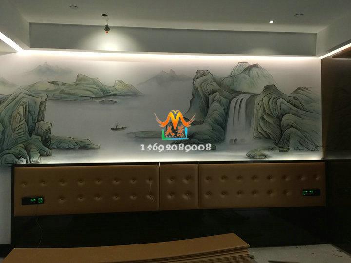 深圳南山手绘墙画公司-专业承接墙绘-量身定做手绘画