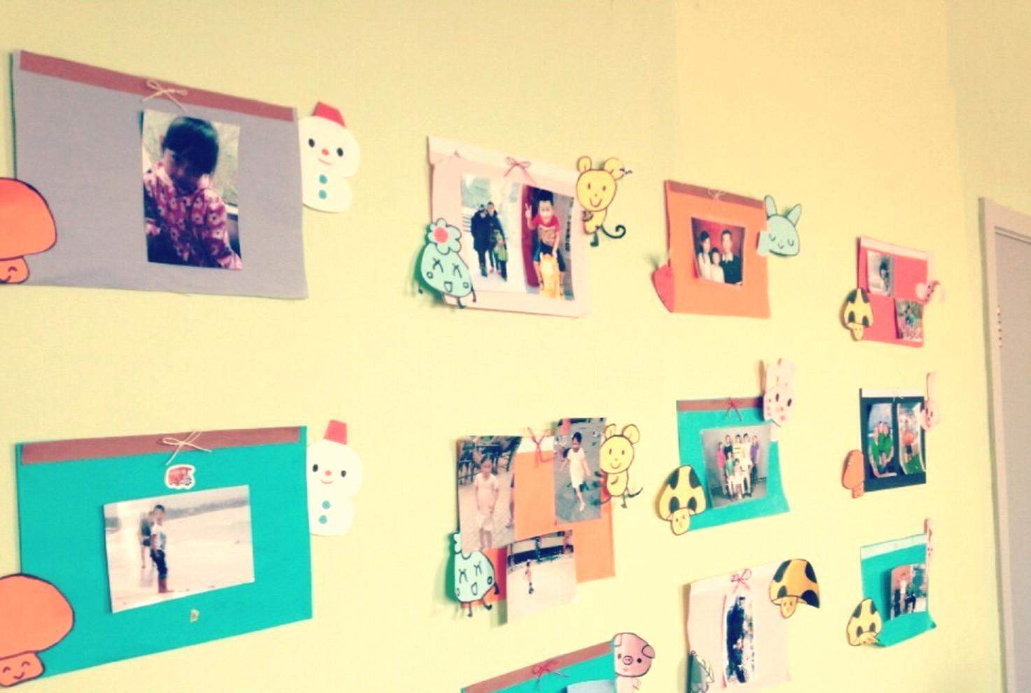 幼儿苹果形相框手工制作图片