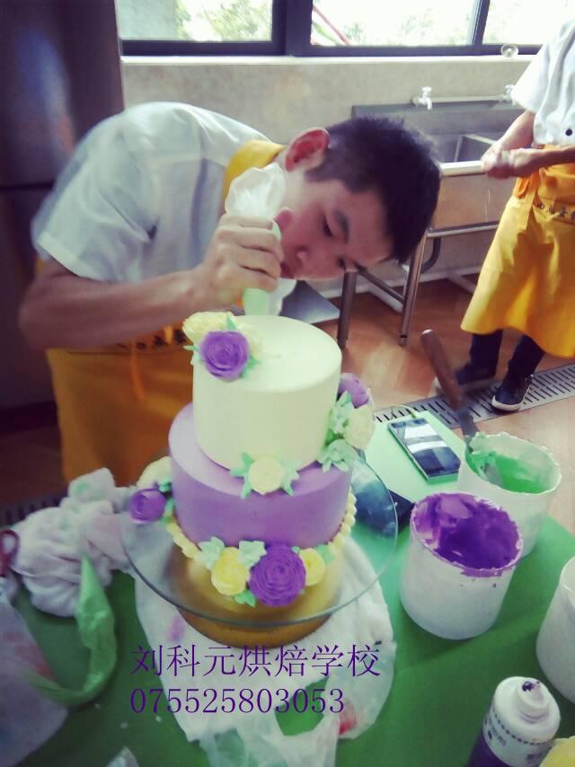 深圳翻糖蛋糕培训学校,韩式裱花培训班,生日蛋糕培训