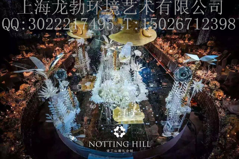 梦幻城堡雕塑,婚庆皇冠雕塑,中式婚礼泡沫雕塑舞台,西式自助酒会欧式